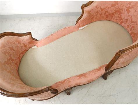 chaise de bateau chaise longue louis xv duchesse en bateau noyer sculpté