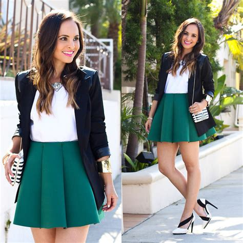 Outfit Ideas with Pleated Skirts - Outfit Ideas HQ