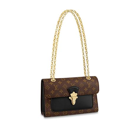luxury monogram canvas  leather handbag victoire louis vuitton