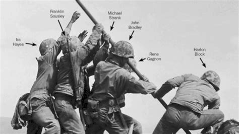 Correcting History Of Iconic Wwii Photo Of Us Marines Flag