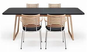 Table de salle à manger extensible Twist Nano avec plateau stratifié