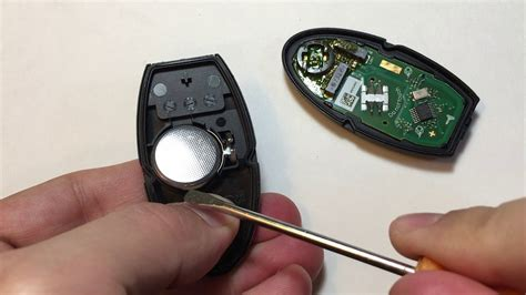 Nissan/infinity Remote Key Fob Battery Replacement Under 1
