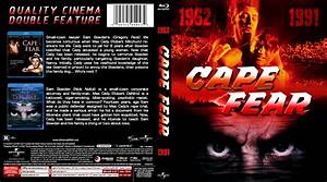 Cape Fear - Movie Blu-Ray Custom Covers - Cape Fear Double ...