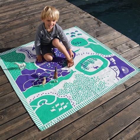 tapis de jeu enfants tapis de jeu enfant tapikid animaux la boutique desjoyaux