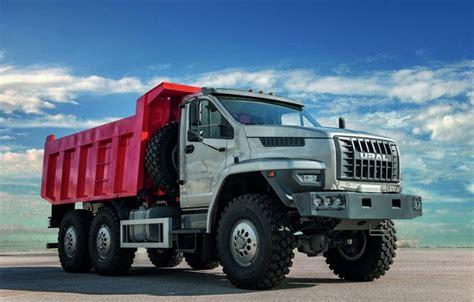 Ural Wallpapers by Wallpaper Truck Ural 6x6 Dump Truck Triaxial