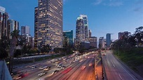 Downtown LA Traffic Timelapse Free Stock Footage | Motion ...