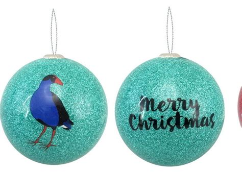 Pukeko Christmas Decoration