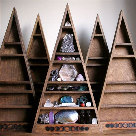 mama moon phase shelf  shelves triangle shelf