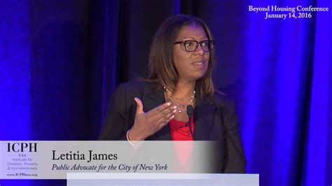 New York City Public Advocate Letitia James At Beyond