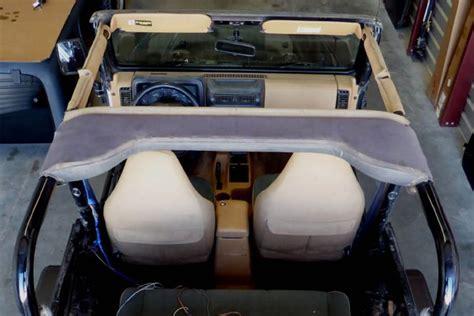 jeep tj interior 5 easy jeep wrangler interior refurbs