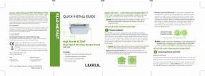 Luxul Wireless Xap1410 High Power Ac1200 Dual