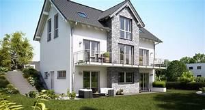 Haus Am Hang : massivhaus mit keller bauen kern haus ~ A.2002-acura-tl-radio.info Haus und Dekorationen