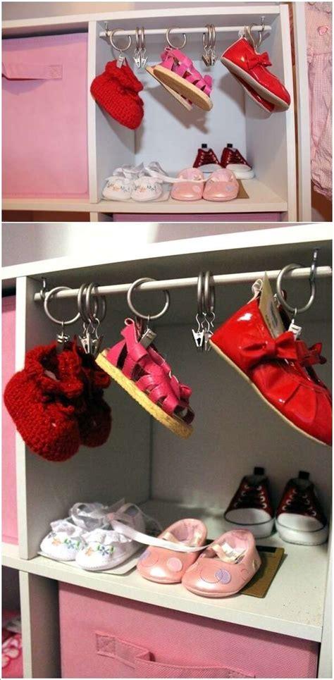 cool baby shoe storage ideas   babys nursery