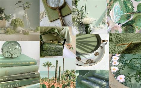 matcha green aesthetic desktop wallpaper desktop