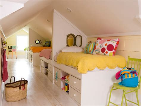 Shared Kids' Rooms : 50 Bright And Colorful Room Design Ideas