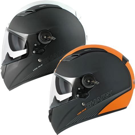 Shark Visionr Be Cool Mat Motorcycle Helmet  Full Face