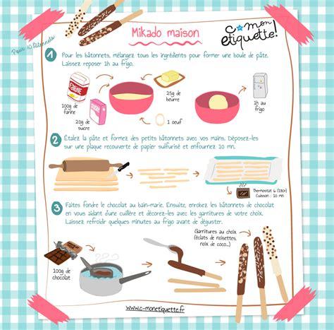 cuisiner de a à z recette de mikados maison