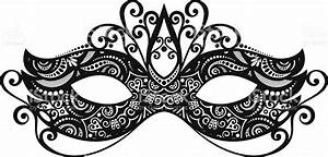Beautiful Masquerade Mask Stock Vector Art & More Images ...