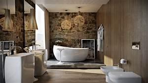 Modern Bathroom By Paul Vetrov Wood Stone And Shadows