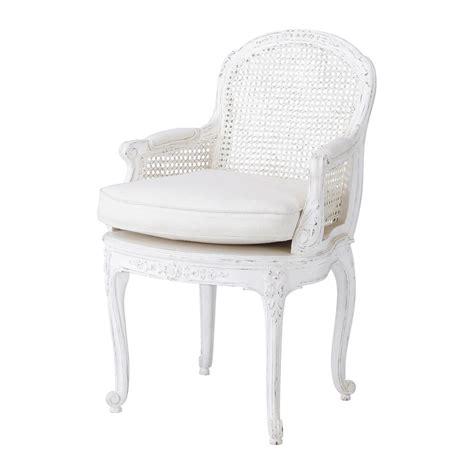 fauteuil en lin blanc segur maisons du monde