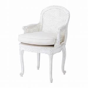Petit Fauteuil Maison Du Monde : fauteuil en lin blanc segur maisons du monde ~ Premium-room.com Idées de Décoration