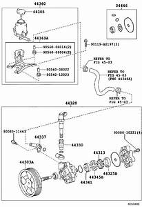 2010 Toyota Tundra Valve Assembly  Flow Control