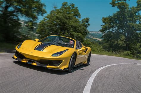 Review 488 Pista by 488 Pista Spider 2019 Review Autocar