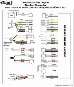E Bike Motor Wiring Diagram And Controller