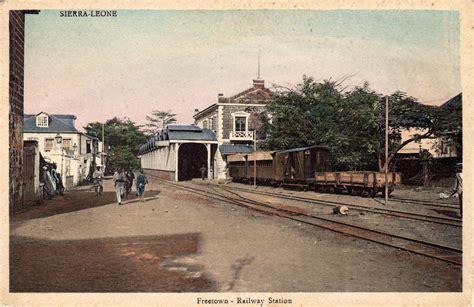 sierra leone web historic postcards   gary
