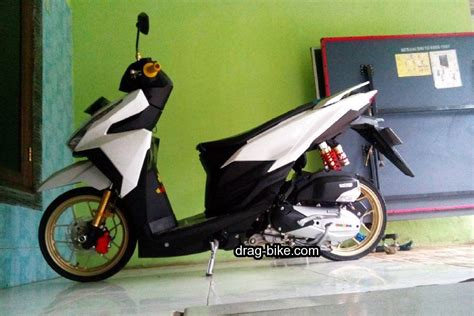 Modif Vario 150 Hitam by Modif Motor Vario 150 Hitam Ring 14 Onvacations Image