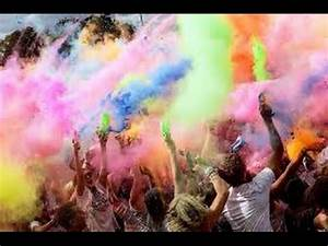 How to make Colour Run / Holi Festival Powder - YouTube