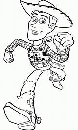 Coloring Toy Story Pages Characters Printable Woody Comments sketch template