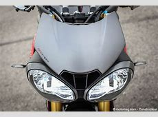 Triumph Speed Triple 1050 R objectif sensations Moto