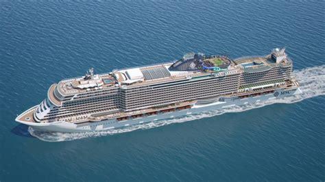msc seaside una nave dove godere la bellezza del mare