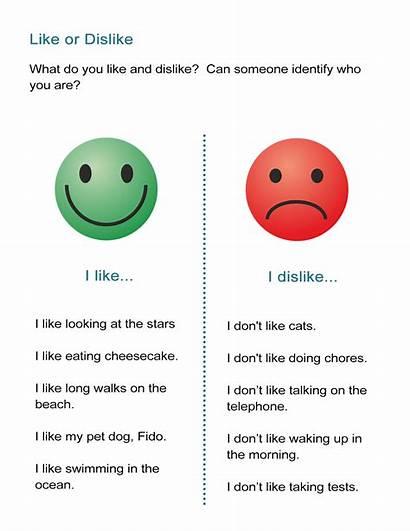 Dislike Person Mystery Guess Lesson English Esl