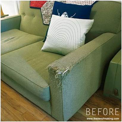 Armrest Sofa Fabric Couch Covers Cat Arm