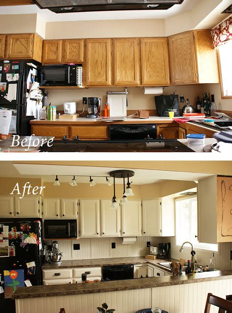 updating kitchen cabinets on a budget diy makeover old my cheap diy kitchen remodel