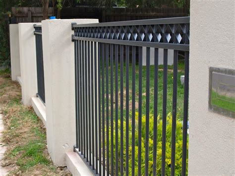 modern minimalist house fence design model  ideas