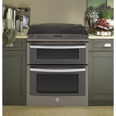 psefes ge profile series front control double oven