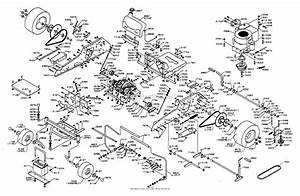 Dixon Ztr 3362  1995  Parts Diagram For Chassis Assembly