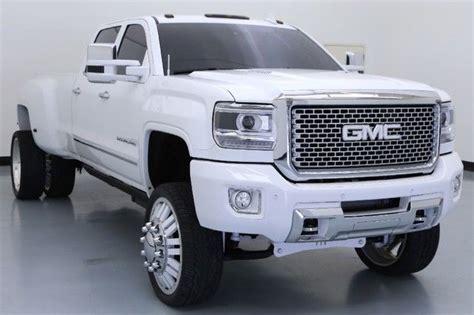 buy used 2015 gmc 3500 denali custom sema dually in houston texas united states for us