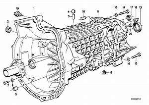 1984 Bmw 318i Coupe E30  Housing  U0026 Attaching Parts  Getrag