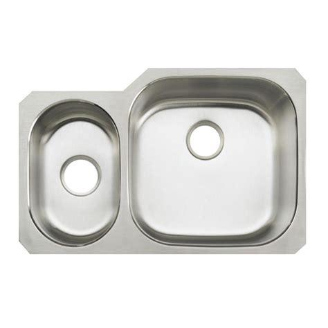 kohler undertone kitchen sink kohler undertone undermount stainless steel 31 in 6707