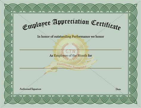 stunning template   employee appreciation