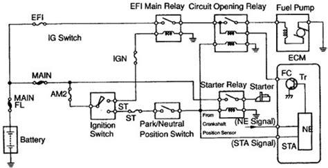 03 Toyotum 4runner Efi Wiring by Wiring Diagram Toyota Celica 2000 Fuel Circuit