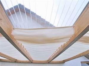 Sonnenschutz Terrassenüberdachung Innenbeschattung