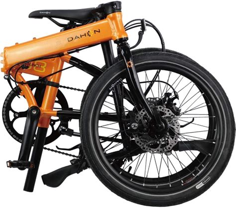 I think of putting a high pressure tire (> 40 psi) and with a measurement smaller than 20 x 1.5 that was what came from the factory on the bike. Dahon Folding Bikes Launch D 8, 20 In. Wheel Size