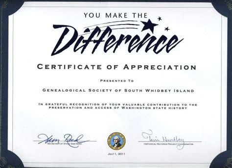 certificates  volunteers thiscertificate
