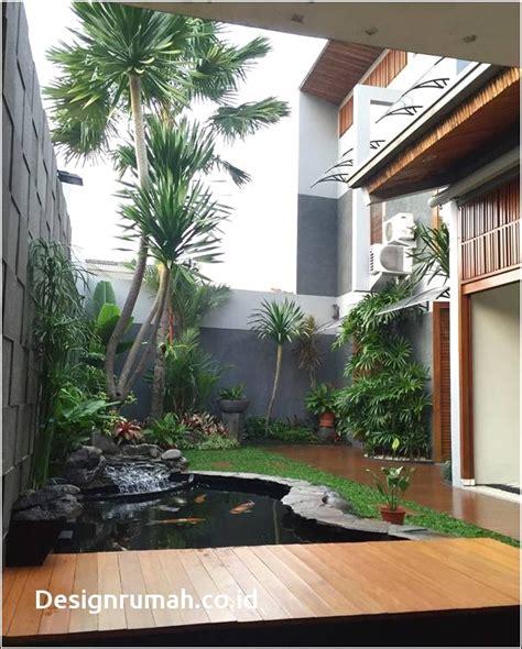 desain rumah minimalis  taman belakang desain