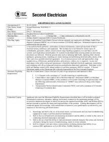 Rig Electrician Resume Template by Industrial Mechanic Sle Resume How To Write An Agenda